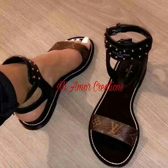 79088427a8eb Louis Vuitton Shoes - Brown Lv Sandals